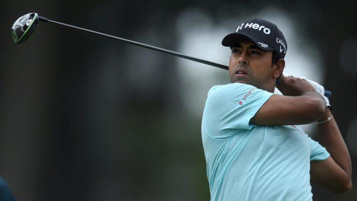 Anirban Lahiri at Travelers Championship