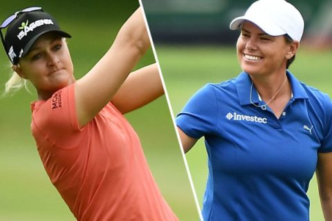 Anna Nordqvist and Lee-Anne Pace share third round lead at Meijer LPGA Classic