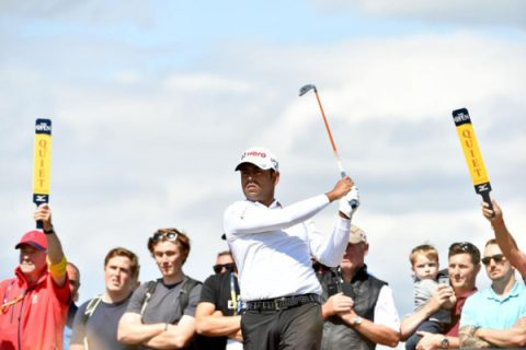 Anirban Lahiri of India at The 147th Open