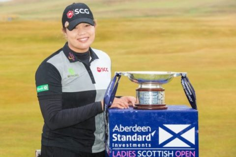 Ariya Jutanugarn wins Ladies Scottish Open