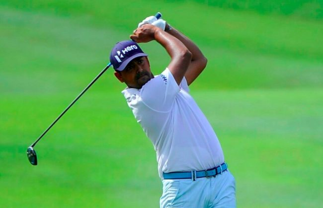 Anirban Lahiri is in good form