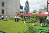 European Tour's action-packed night golf contest Hero Challenge will head to London's Canary Wharf