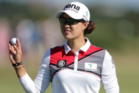 Minjee Lee leads the Women's British Open