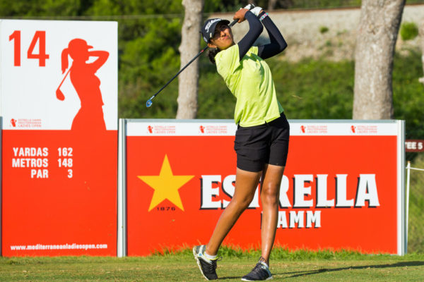 Aditi Ashok at the Estrella Damm Ladies Open - LET Image