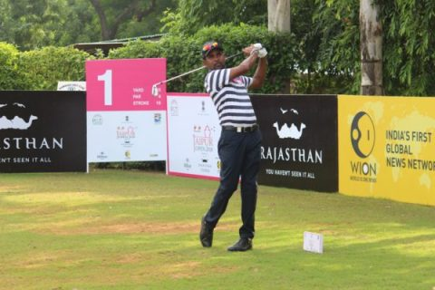 Anura Rohana fires 62 to seize first round lead at Jaipur Open