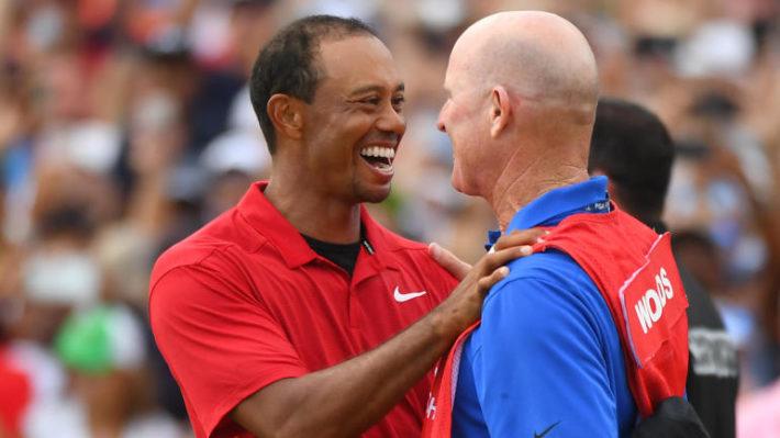 Tiger Woods - Joe LaCava - TOUR Championship - PGA TOUR Image