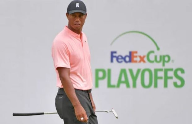 Tiger Woods lying T12 after rd 2 of BMW Championship