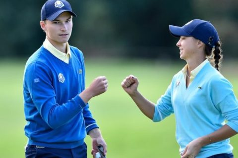 US takes lead over Europe after first day of 11th Junior Ryder Cup