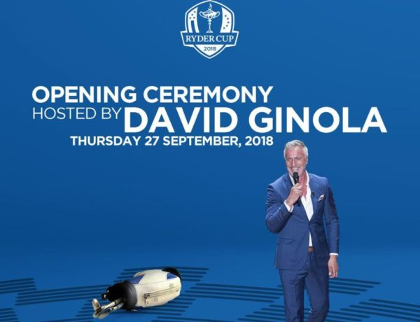 David Ginola to host The 2018 Ryder Cup at at Le Golf National