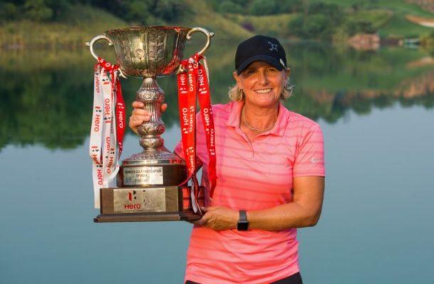 Becky Morgan won the Hero Women's Indian Open