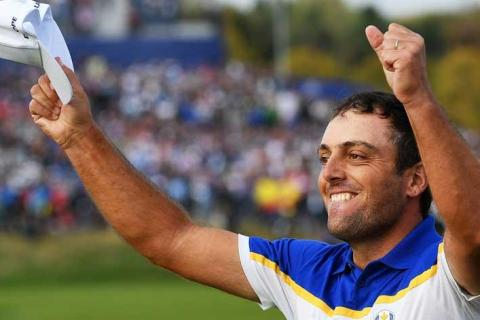 Francesco Molinari was instrumental in the Ryder Cup success of Europe