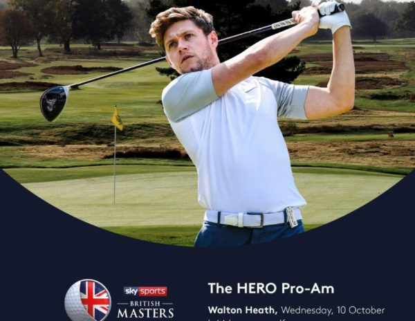 Niall Horan to play Hero Pro-Am at Sky Sports British Masters