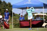 Sharmila Nicollet during the third round of LPGA Qualifying School Stage II