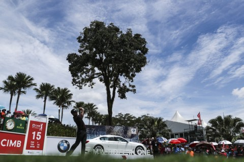 Shubhankar Sharma in the final round of the CIMB Classic - PGA TOUR Images