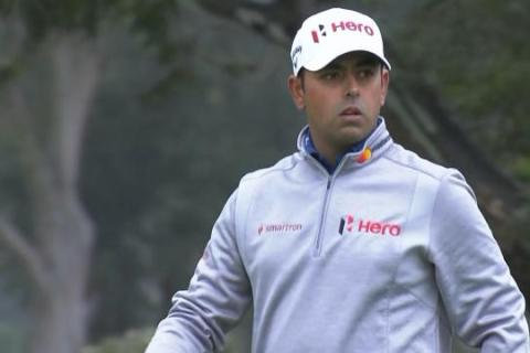 Anirban Lahiri at the World Cup of Golf