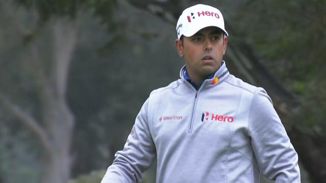 Anirban Lahiri at the World Cup of Golf