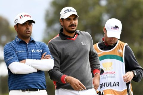 Anirban Lahiri and Gaganjeet Bhullar finish T10 in World Cup of Golf