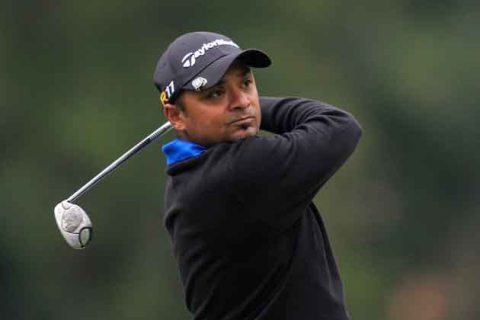 Rahil Gangjee in the Pacific Rubiales Bogota Open
