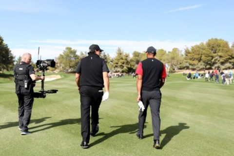 The Match between Phil Mickelson and Tiger Woods