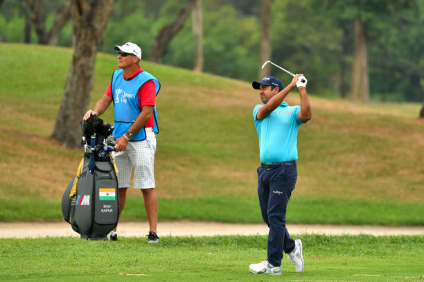 Shiv Kapur fired six-under-par 66 in the second round of BNI Indonesian Masters