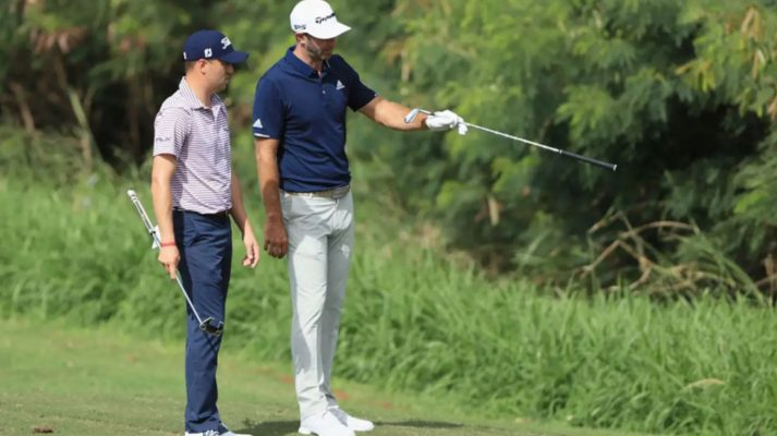 Dustin Johnson's 37-foot birdie chip shot at Sentry