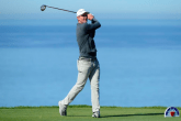 Justin Rose during a first round 63 at the Farmers Insurance Open