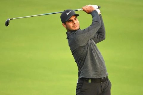 Shubhankar Sharma plays the Saudi International this week