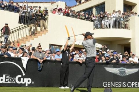 Tiger Woods to play in 2019 Genesis Open