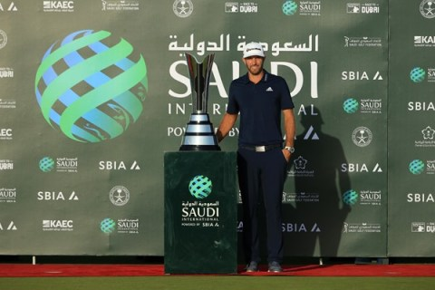 Dustin Johnson wins inaugural Saudi International