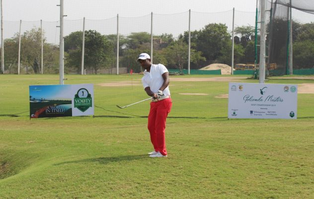 M Dharma shot 69 in the third round of the Golconda Masters