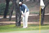 Udayan Mane during the final round 67 at Classic Golf