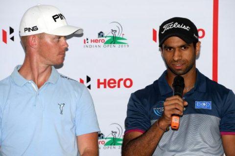 Aaron Rai at Hero Indian Open