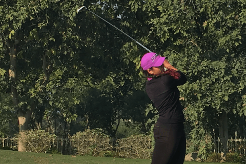 Gaurika Bishnoi at the Classic Golf & Country Club