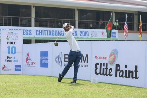 Rashid Khan shot 66 in the second round of the Chittagong Open