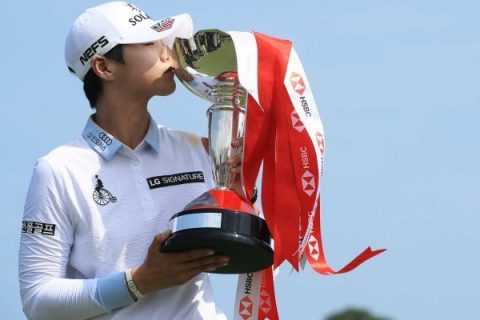 Sung Hyun Park won the HSBC Women's World Championship