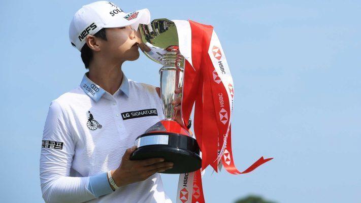 Sung Hyun Park won the HSBC Women's World Championship
