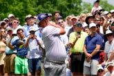 Jason Dufner shares third round lead at Wells Fargo Championship
