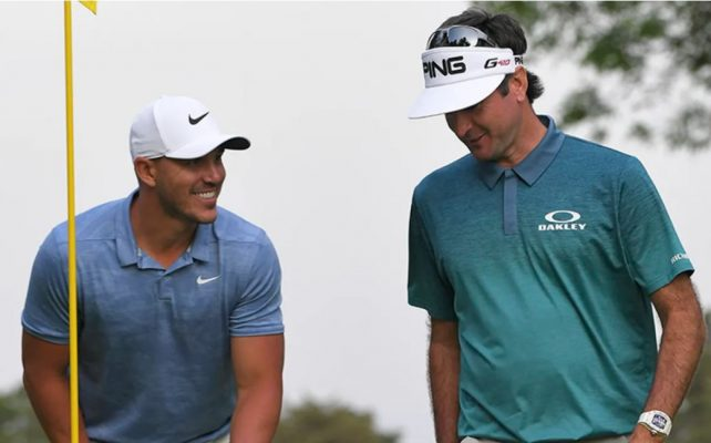 Brooks Koepka and Bubba Watson will be in a group with Tony Finau on Thursday and Friday