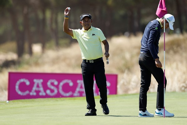 Thongchai Jaidee at Golfsixes Cascais