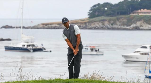 Tiger Woods - Round 2 - USGA Images