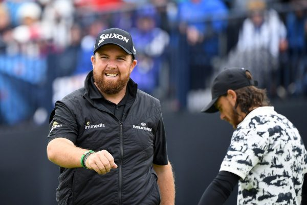 Shane Lowry was sanguine on a rough day for golf - Open Images