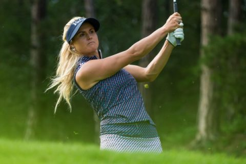 Carly Booth of Scotland during the second round