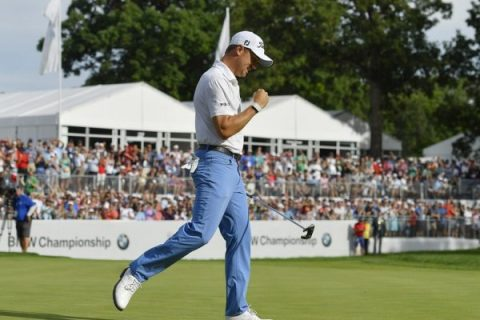 Justin Thomas - PGA TOUR - BMW Championship Images