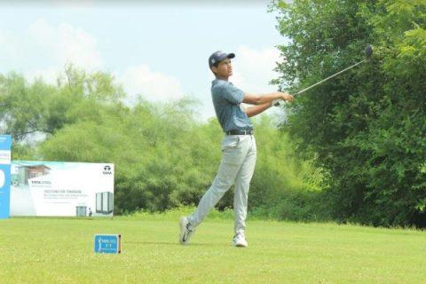 Karan Pratap Singh PGTI Feeder Tour 2019 at Golden Greens Golf Club