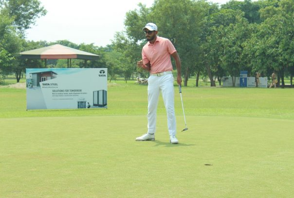 Yuvraj Singh Sandhu - Winner in the PGTI Feeder Tour's Karnal event