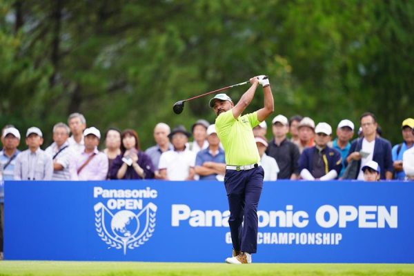 Rahil Gangjee grabs second round lead by one shot at Panasonic Open Golf Championship