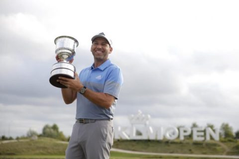 Sergio Garcia wins the KLM Open