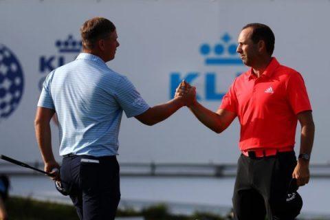 Shinkwin and Garcia lead the KLM Open