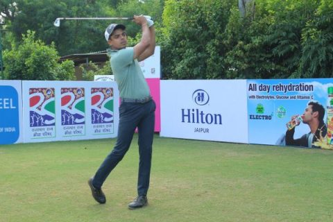 Syed Saqib Ahmed leads round 2 of Jaipur Open 2019