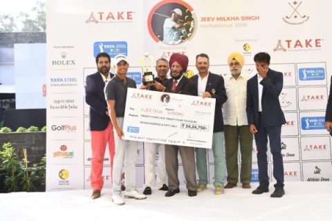 Ajeetesh Sandhu wins Jeev Milkha Singh Invitational